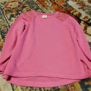Light pink sweater size 4 Arizona Jean brand